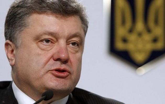 Ποροσένκο: Η Ουκρανία αντιμέτωπη με ρωσική εισβολή – Κίνδυνος για «ολοκληρωτικό πόλεμο»