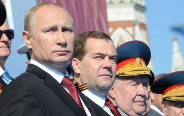 Ο Πούτιν στην Κριμαία