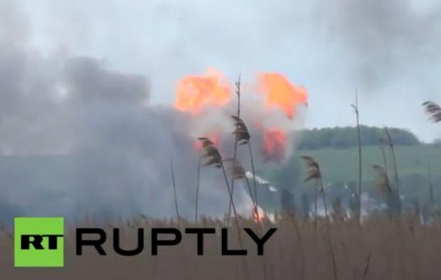 Οι Ρώσοι κατέρριψαν ουκρανικό ελικόπτερο – Πάνω από 20 οι νεκροί στο Σλοβιάντσκ