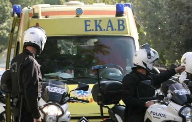 Προληπτική κινητοποίηση του ΕΚΑΒ για την πυρκαγιά στην Εύβοια