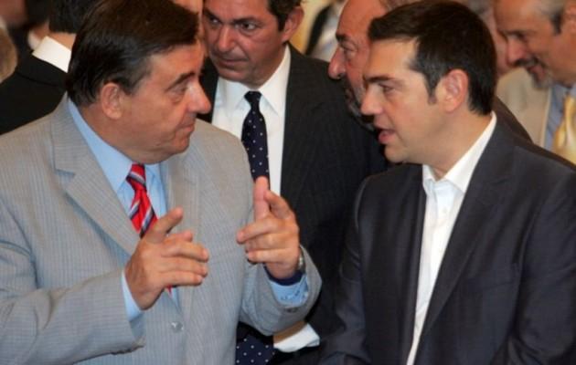 Τα είπαν στην Θεσσαλονίκη Καρατζαφέρης και Τσίπρας