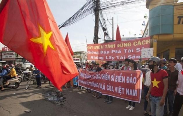 Με αίμα βάφτηκαν οι αντικινεζικές ταραχές στο Βιετνάμ