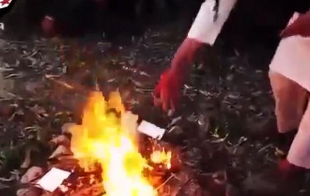 Ευρωπαίοι καίνε τα διαβατήριά τους και πολεμούν στο πλευρό της ISIS (βίντεο)