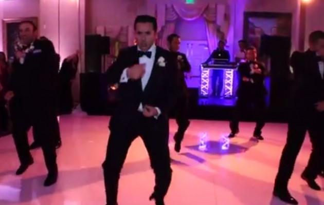Ο γαμπρός τρέλανε την νύφη με τον χορό – έκπληξη (βίντεο)