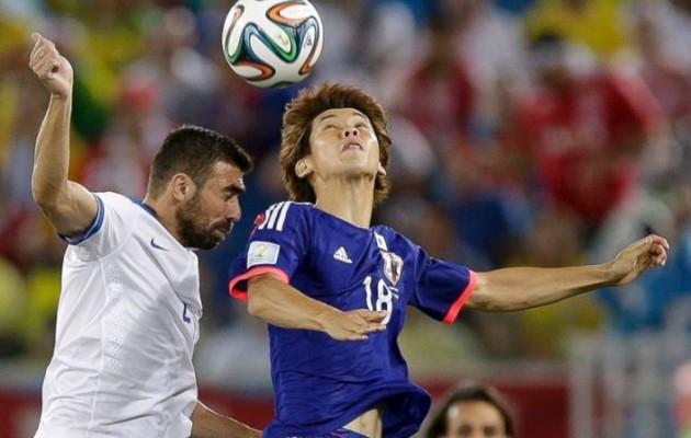 Μουντιάλ: Ελλάδα – Ιαπωνία 0-0