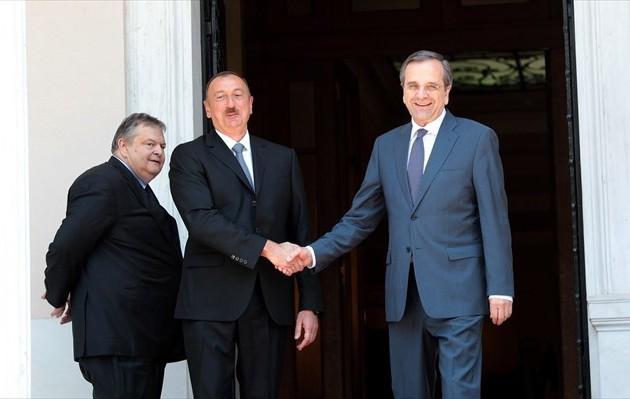 Σαμαράς: Πολυδιάστατη οικονομική συνεργασία με το Αζερμπαϊτζάν