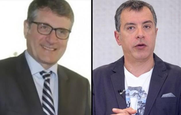 """""""Εκλεκτός"""" της Γερμανικής Πρεσβείας ο Σταύρος Θεοδωράκης – ο Γερμανός Πρέσβης επισκέφθηκε Το ΠΟΤΑΜΙ"""