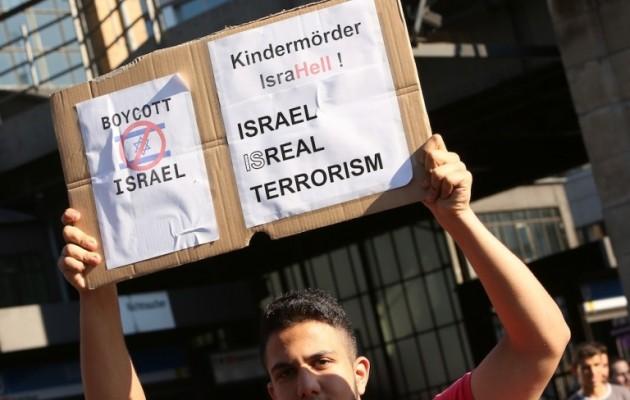 «Έκρηξη αντισημιτικού μίσους στη Γερμανία» καταγγέλλουν οι Εβραίοι