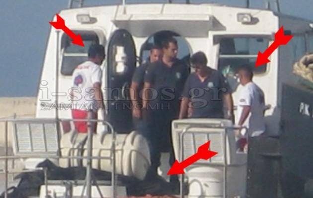 Απαράδεκτες εικόνες: Παράτησαν επί ώρες τα πτώματα 2 μεταναστών στο λιμάνι της Σάμου