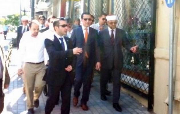 Αλωνίζει στην Ξάνθη ο Αντιπρόεδρος της Τουρκίας (φωτογραφίες)