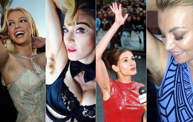 Ωχ! Δείτε ποιες διάσημες ξέχασαν να ξυριστούν