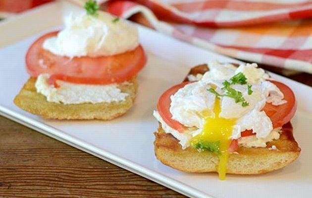 Σάντουιτς με αυγό ποσέ