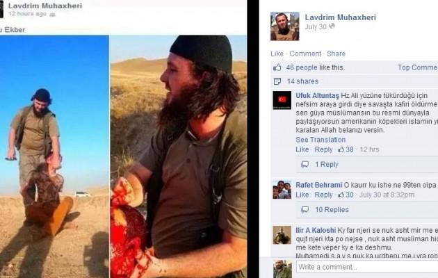Ο αιμοσταγής Αλβανός τζιχαντιστής Λαβντρίμ Μουχατζερί στα βόρεια σύνορα της Ελλάδας