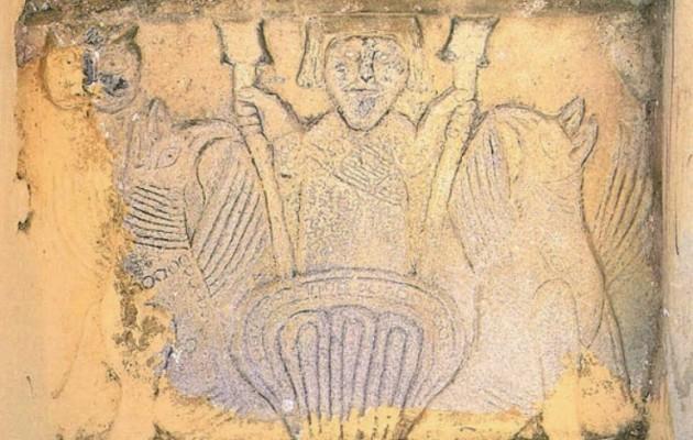 Ο τάφος στην Αμφίπολη σε τοιχογραφία μοναστηρίου στη Μάνη;