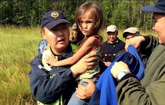 Καρίνα Τσικίτοβα: Το 3χρονο κοριτσάκι που επιβίωσε 11 μέρες σε δάσος της Σιβηρίας