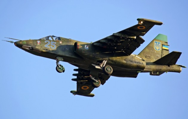 Οι Ρώσοι κατέρριψαν ουκρανικό Su-25