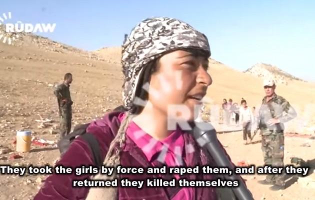 Κοπέλες των Γιαζίντι αυτοκτόνησαν μετά τον βιασμό τους