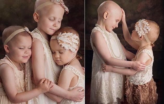 Συγκινητικές φωτογραφίες: Τα τρία κοριτσάκια που νίκησαν τον καρκίνο