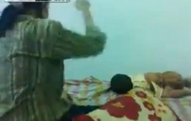 Διαβολική – νταντά βασανίζει χωρίς έλεος βρέφος (βίντεο)