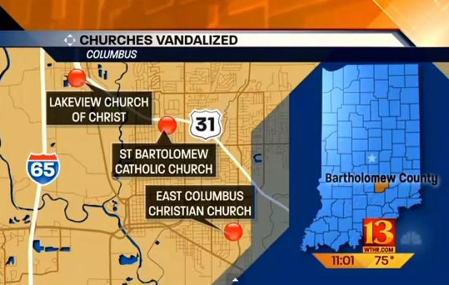 ΣΟΚ: Μουσουλμάνοι βεβήλωσαν εκκλησίες στις ΗΠΑ