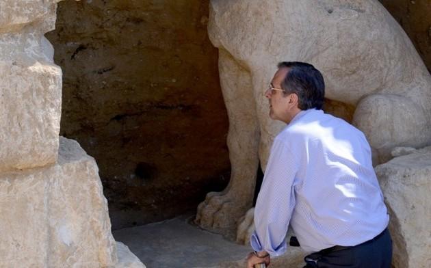 Πάει ξανά ο Σαμαράς στην Αμφίπολη;