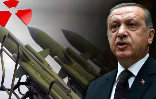 Η Τουρκία αναπτύσσει πυρηνικά όπλα με τη βοήθεια του Πακιστάν