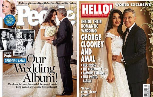 Παντρεύτηκε ο Κλούνεϊ – Δείτε το υπέροχο νυφικό της Αμάλ