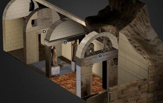 Αμφίπολη: Εντυπωσιακή τρισδιάστατη απεικόνιση (βίντεο)