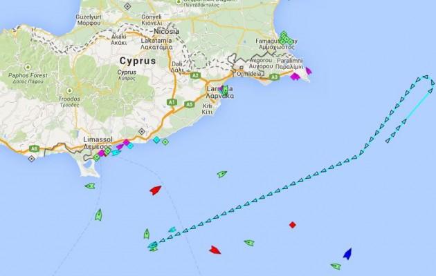 Οι Τούρκοι αμφισβητούν όλη την Κύπρο (χάρτης)