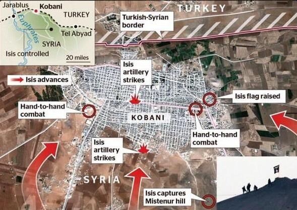 kobane-map