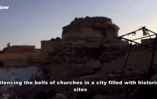 Το Ισλαμικό Κράτος ισοπεδώνει αρχαίες εκκλησίες (βίντεο)