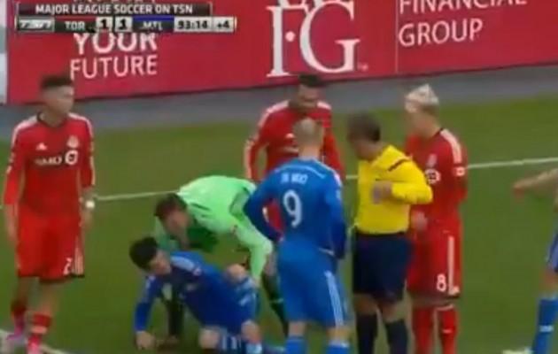Θαύμα στο γήπεδο: Ο τραυματίας έγινε… καλά (βίντεο)
