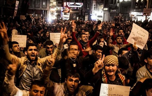 Μήνυμα Κούρδων στον Ερντογάν: Εάν πέσει η Κομπάνι θα κάψουμε την Τουρκία