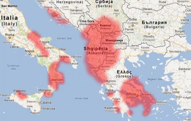 """Τα Ελληνόπουλα της Β. Ηπείρου διδάσκονται επίσημα τη """"Μεγάλη Αλβανία"""""""