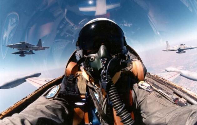 Ελληνικό F-16 πέταξε για πρώτη φορά πάνω από τα Σκόπια – Υπό ελληνικό έλεγχο η Βόρεια Μακεδονία