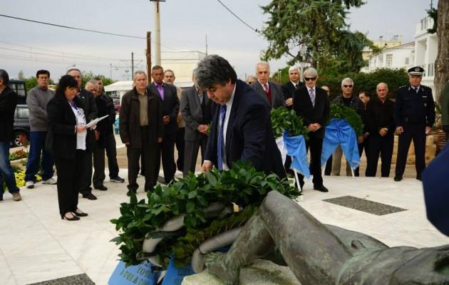 Οι Κούρδοι της Κομπάνι τίμησαν τους Έλληνες στρατιώτες πεσόντες στην Κύπρο