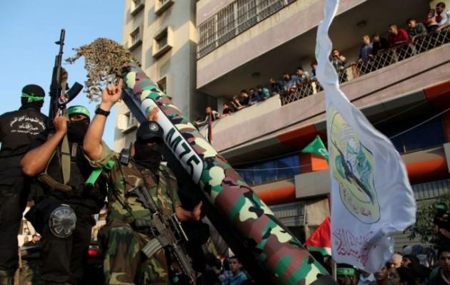 Η Χαμάς προετοιμάζεται για πόλεμο και δοκιμάζει νέες ρουκέτες