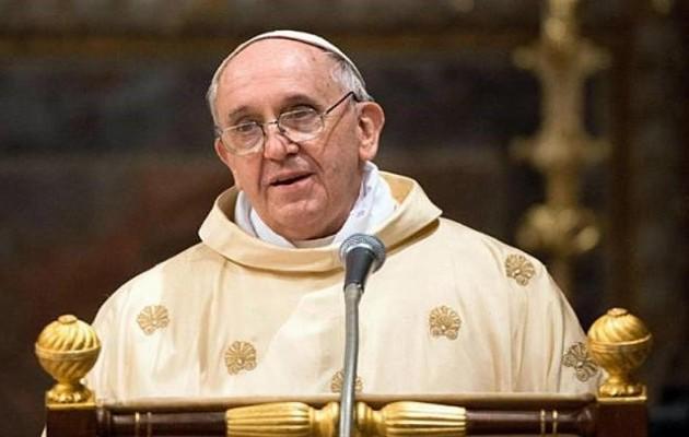 Ο Πάπας Φραγκίσκος στην Κωνσταντινούπολη