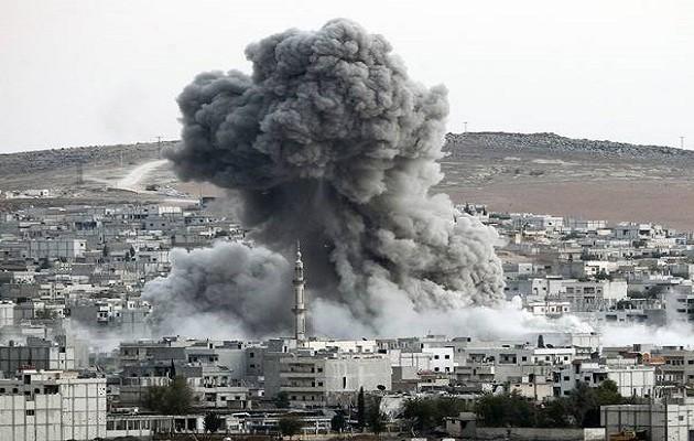 Συρία: Αεροπορικές επιδρομές εναντίον θέσεων του Ισλαμικού Κράτους – 105 νεκροί