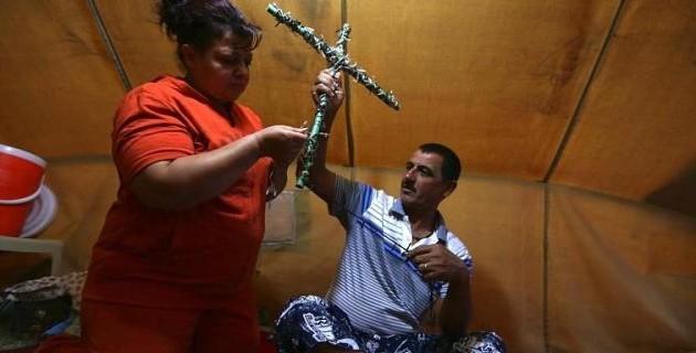 """Πεσμεργκά: """"Θα απελευθερώσουμε όλα τα χριστιανικά εδάφη στο Ιράκ"""""""