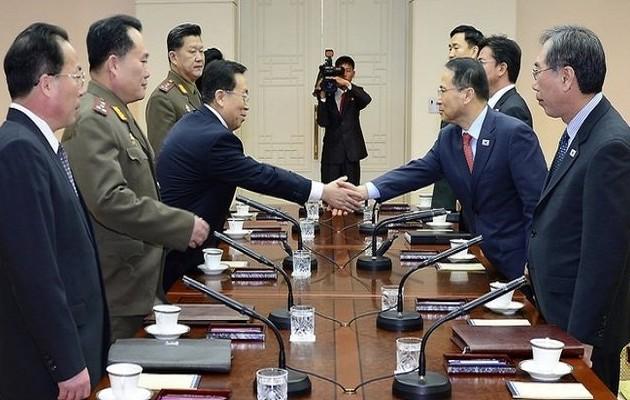 Επανέναρξη συνομιλιών ανάμεσα στη Νότια και Βόρεια Κορέα