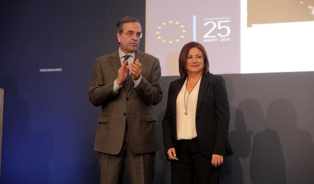 Και ευρωβουλευτής και εκπρόσωπος Τύπου της ΝΔ η Σπυράκη