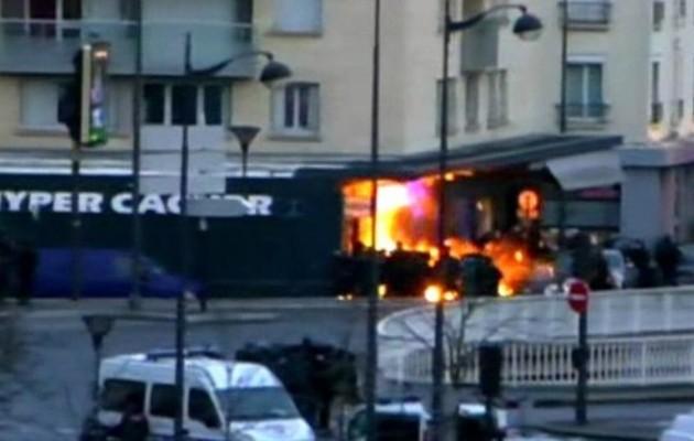 Τζιχάντ στη Γαλλία: Νεκροί 3 τζιχαντιστές και 4 όμηροι στο Παρίσι (βίντεο)