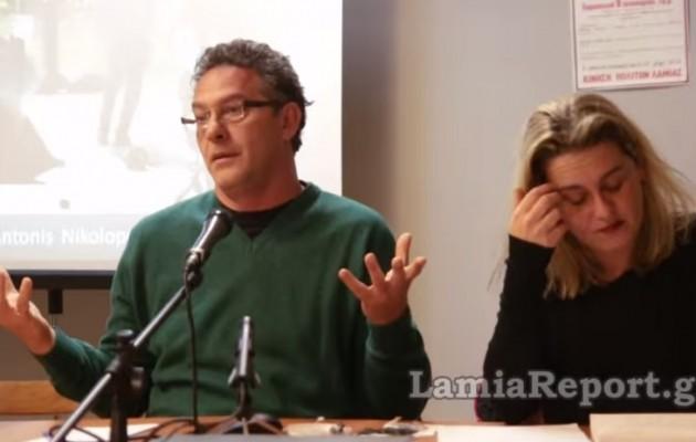 """Ο Αρβανίτης είπε τον Αντώνη Σαμαρά """"μ@λάκα"""" (βίντεο)"""