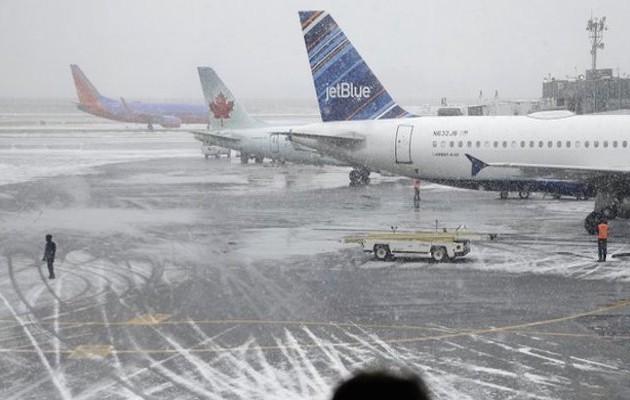 Μία από τις μεγαλύτερες χιονοθύελλες πρόκειται να πλήξει τη Νέα Υόρκη