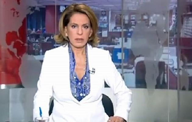 Η Όλγα Τρέμη στο κεντρικό δελτίο ειδήσεων του MEGA