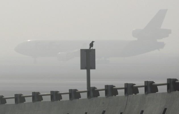 Ομίχλη και προβλήματα στο αεροδρόμιο «Μακεδονία»