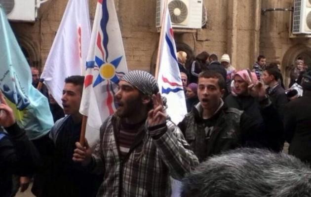 Χιλιάδες χριστιανοί της Συρίας κατέφυγαν για προστασία στους Κούρδους