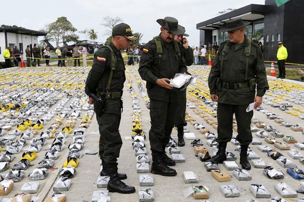Κοκαΐνη 60 εκατ. δολαρίων κατασχέθηκε στην Κολομβία