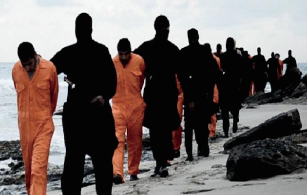 Εκδίκηση για τον αποκεφαλισμό των Αιγύπτιων από το Ισλαμικό Κράτος